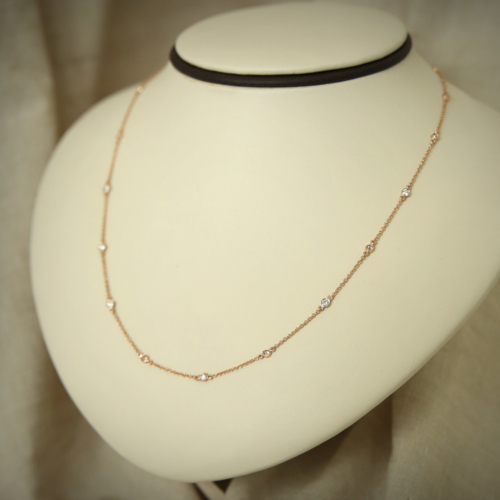 Gold Necklace 3